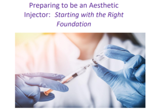 How Can I get a job as an Aesthetic Injector?